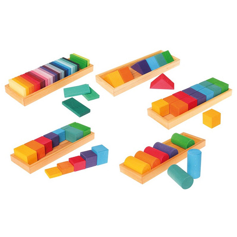 Grimm's Shapes & Colours Building Set