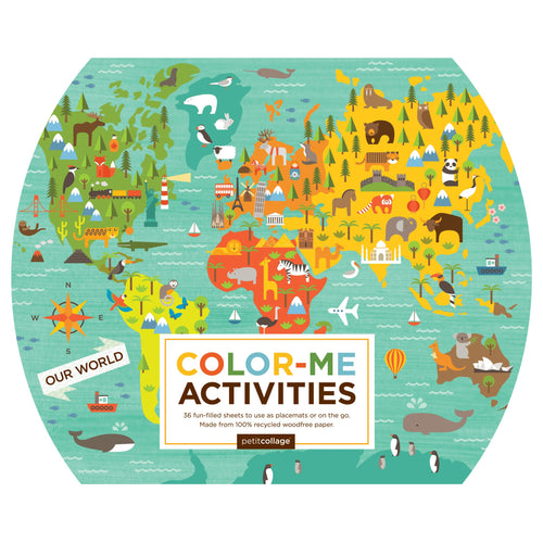 Petit Collage Our World Colour-Me Activities