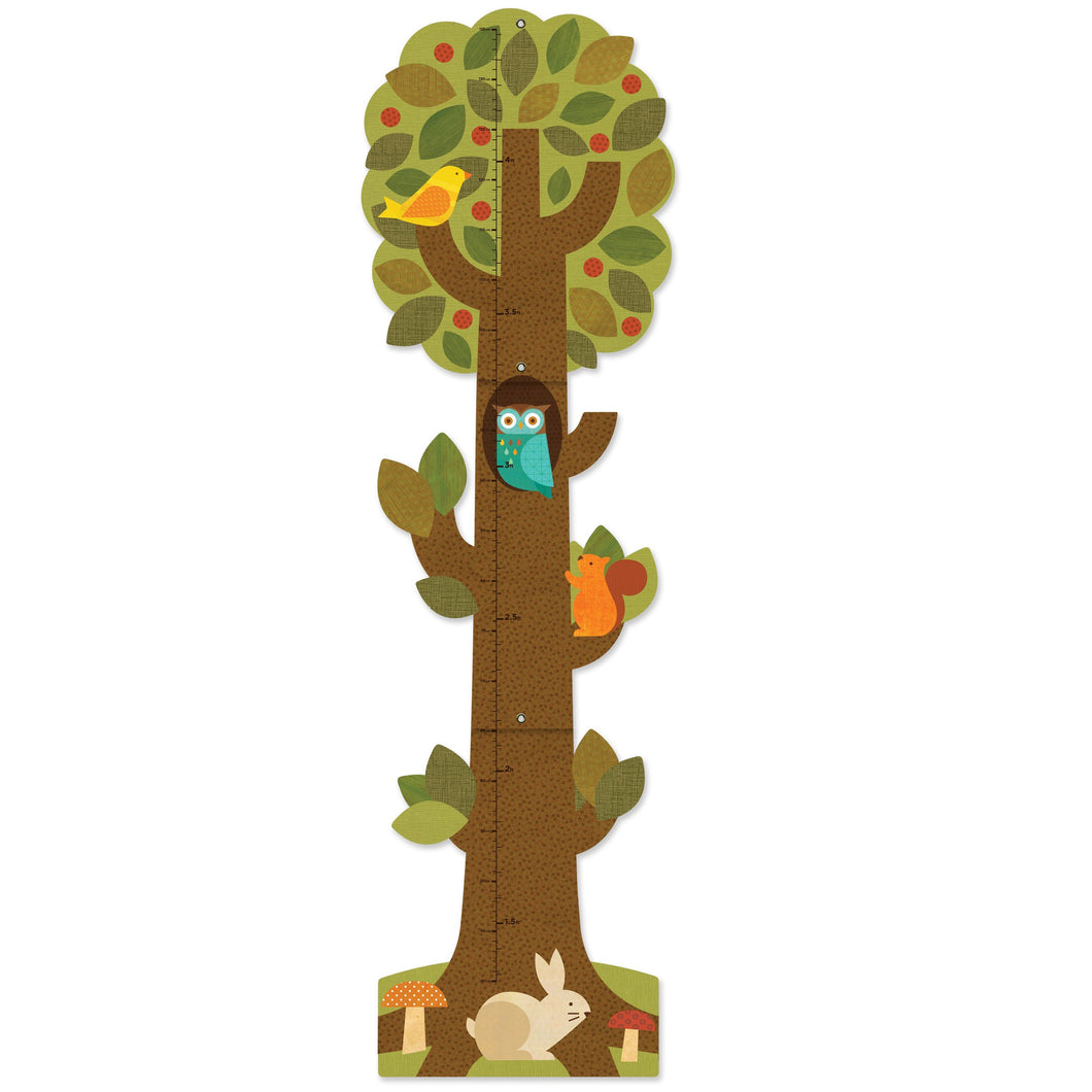 Petit Collage Tree Friends Growth Chart