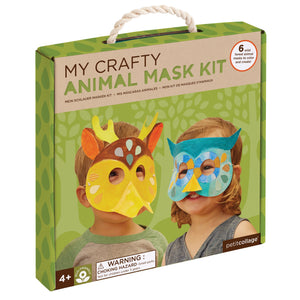 Petit Collage My Crafty Forest Animals Mask Kit