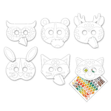 Load image into Gallery viewer, Petit Collage My Crafty Forest Animals Mask Kit