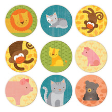 Load image into Gallery viewer, Petit Collage Animals & Babies Memory Game