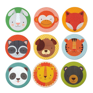 Petit Collage Animal Pals Memory Game