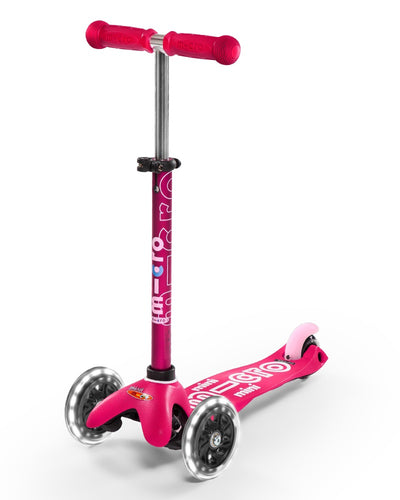 Micro Mini Deluxe LED Scooter (Only Pink left)