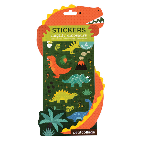 Petit Collage Mighty Dinosaurs Stickers