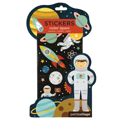 Petit Collage Outer Space Stickers