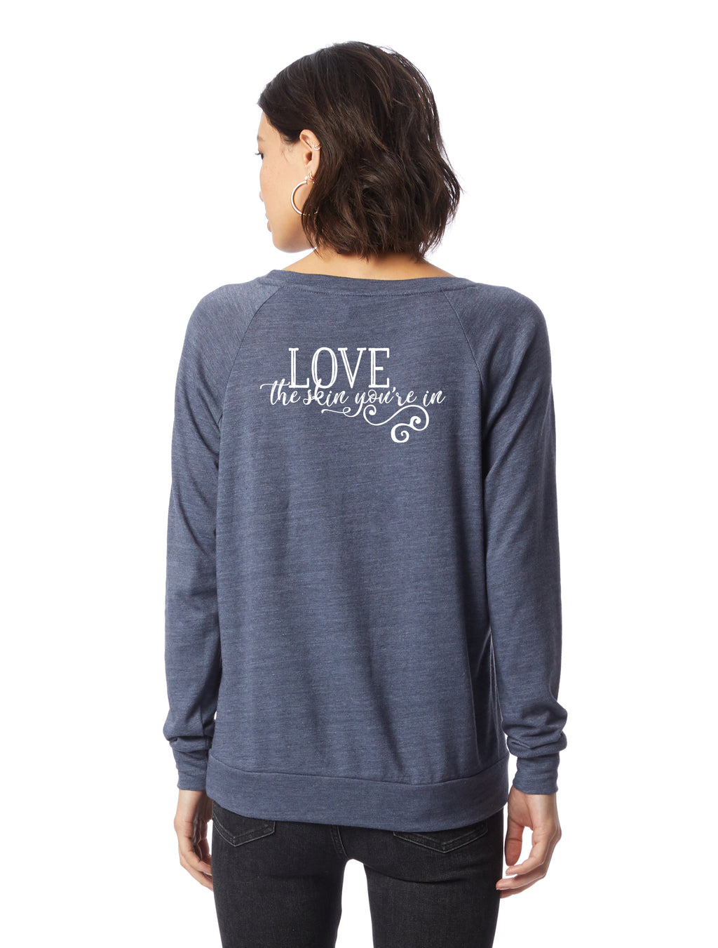 Love the Skin You're In Boss Babe Slouchy Eco-Jersey Pullover