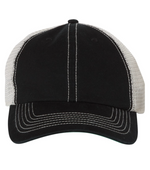 Pumpkin Fest Patch Baseball Hat in Black