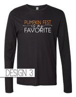 Vintage Jersey Long Sleeve Tee in Black