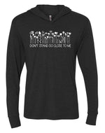 Don't Stand So Close to Me T-Shirt Style Hoodie
