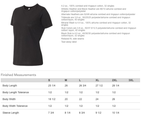 Which hair type are you? Ladies Loose Fit Black Tee