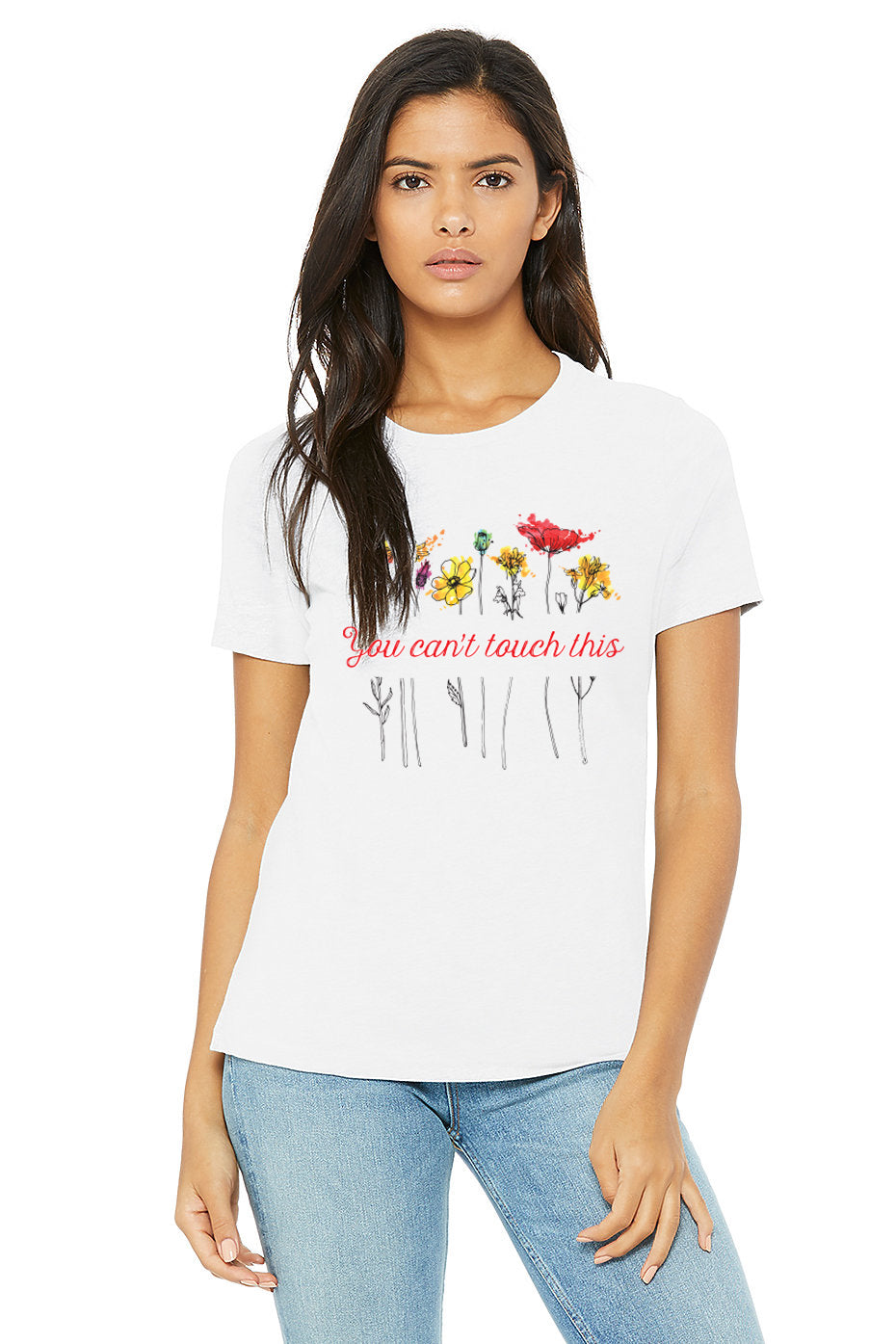You Can't Touch This Poppy Tee