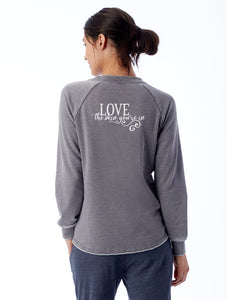 Love the Skin You're In Boss Babe Sweatshirt