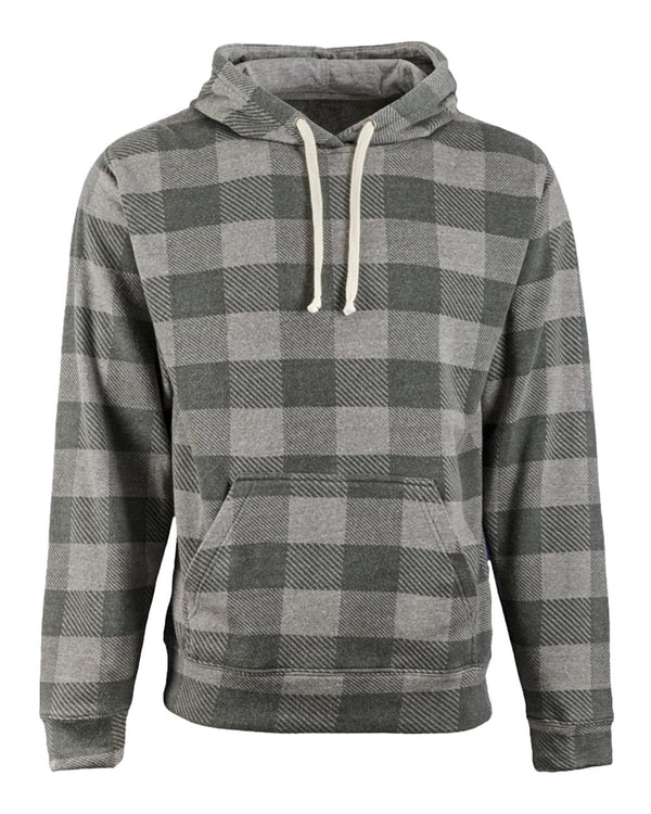 Santa Cow Buffalo Check So Soft Hoodie