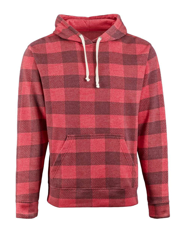 'Tis the Season Buffalo Check So Soft Hoodie
