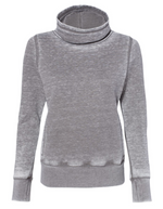 4-Leaf Clover Zen Fleece Cowl Neck Sweatshirt