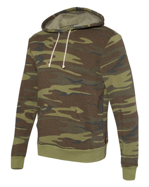 Life Offers More Avocado Leaf Camo Hoodie