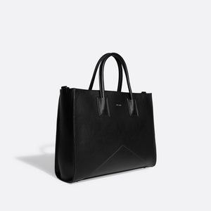 Greta Work Tote - Black or Cloud