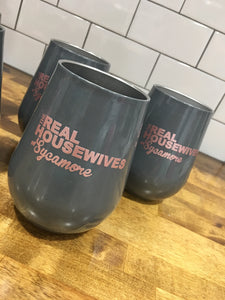 Real Housewives of Your City Wine Tumbler