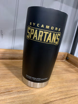 Sycamore Spartans Drink Tumbler Travel Coffee Mug