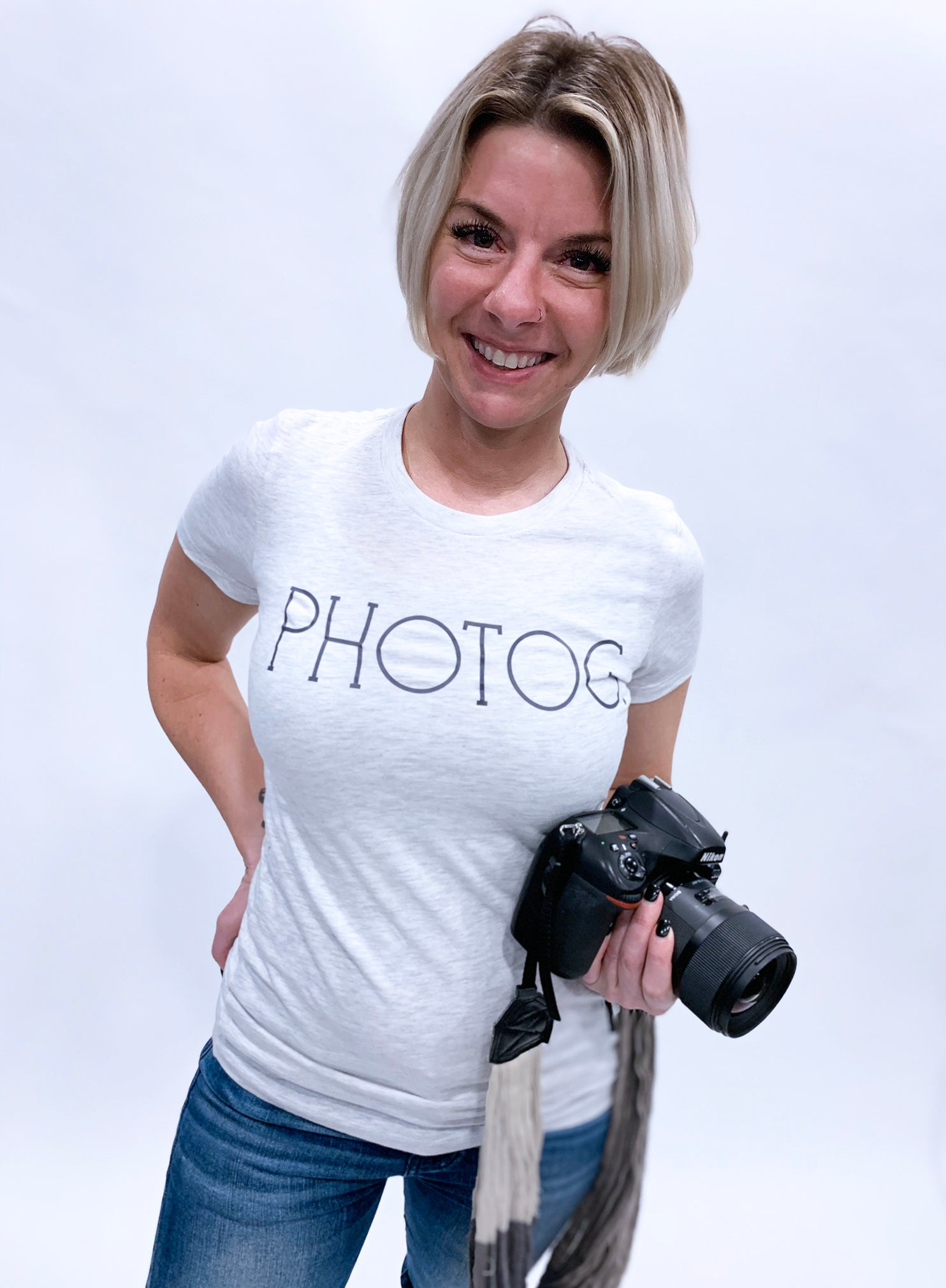 Photog Classic Fitted Tee