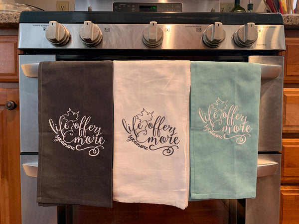 Life Offers More Kitchen Towels