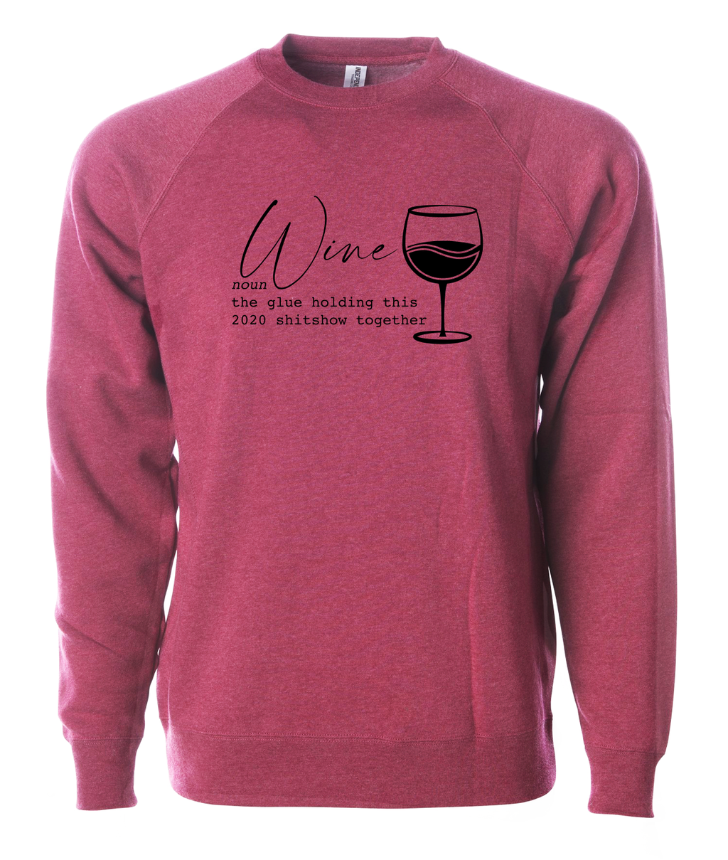 Definition of Wine in 2020 Sweatshirt