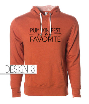 So Soft and So Comfy Orange Hoodie