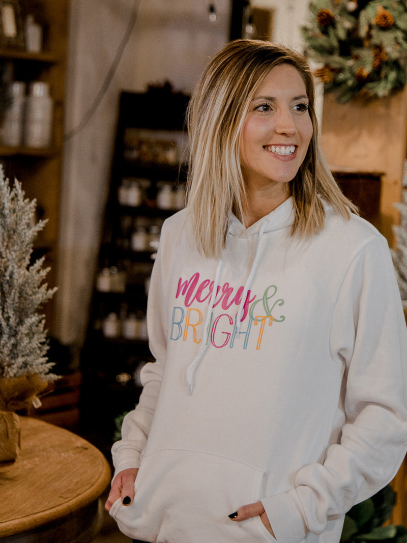 Merry and Bright So Soft and Comfy Hoodie