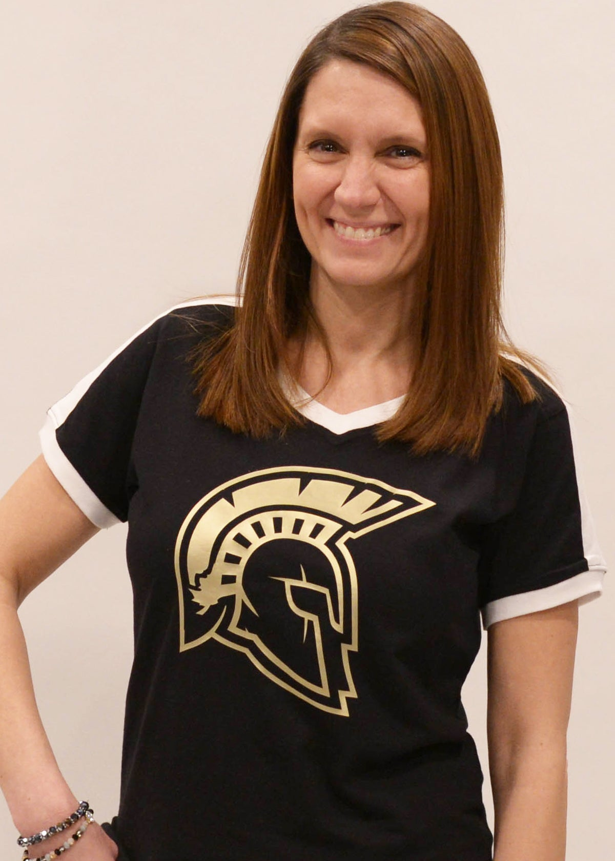 Sycamore Spartans Mascot Jersey Tee