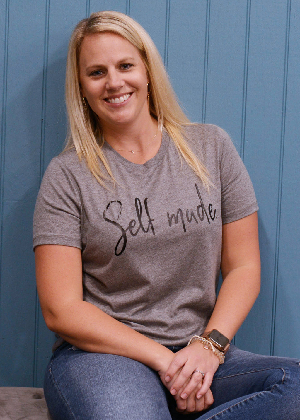 Self Made Ladies Loose Fit Tee