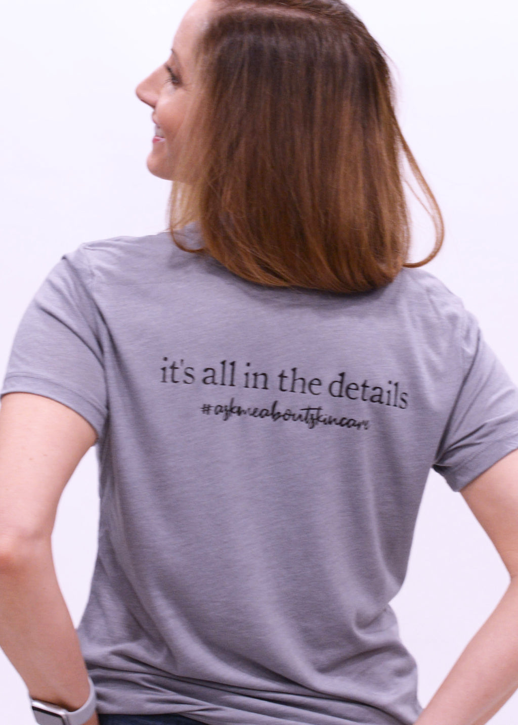 It's All In the Details Ladies Loose Fit Tee