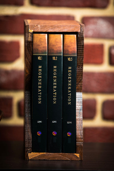 Wood Slipcase for Regeneration Book Series