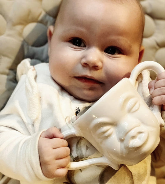 Baby-moodcup - Hvid
