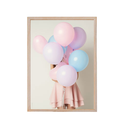 Pastelcollection - Pastelballon girl