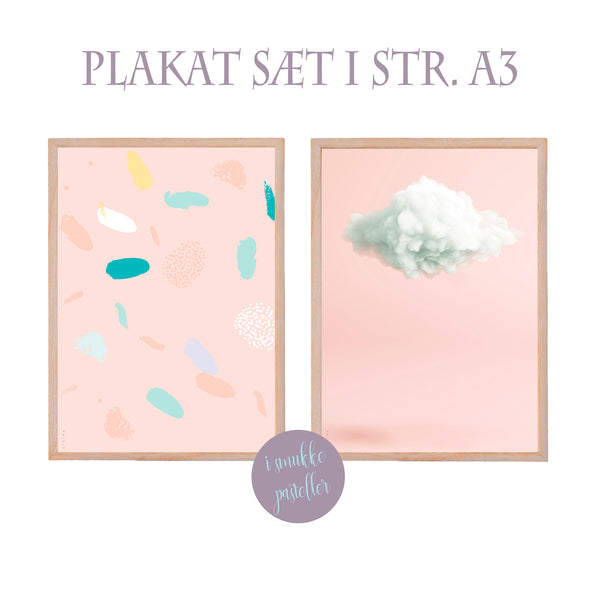 Pastelcollection - pastel makkerpar - str. A3