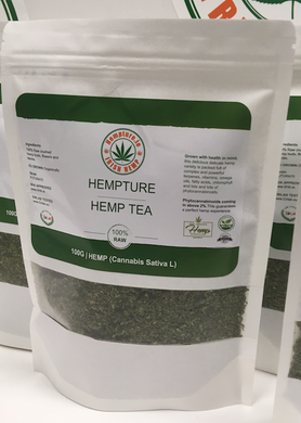 Hempture Distributor (RAW crushed FULL Spectrum HEMP TEA) 100G - Ceelabb CBD Products