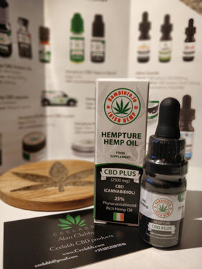 Hempture CBD plus 2500mg 25% cbd oil