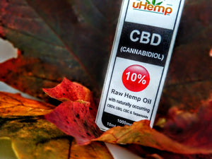 uHemp CBD oil extract 10% (10ml) €63