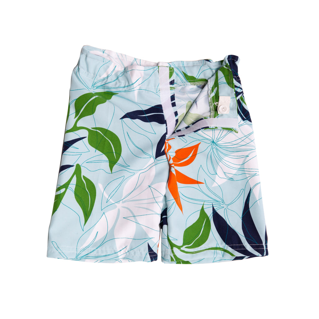 Adaptive Ocean Blue Shorts