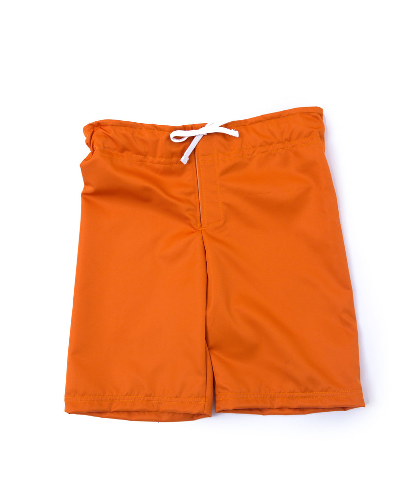 Adaptive Boys Long Orange Shorts