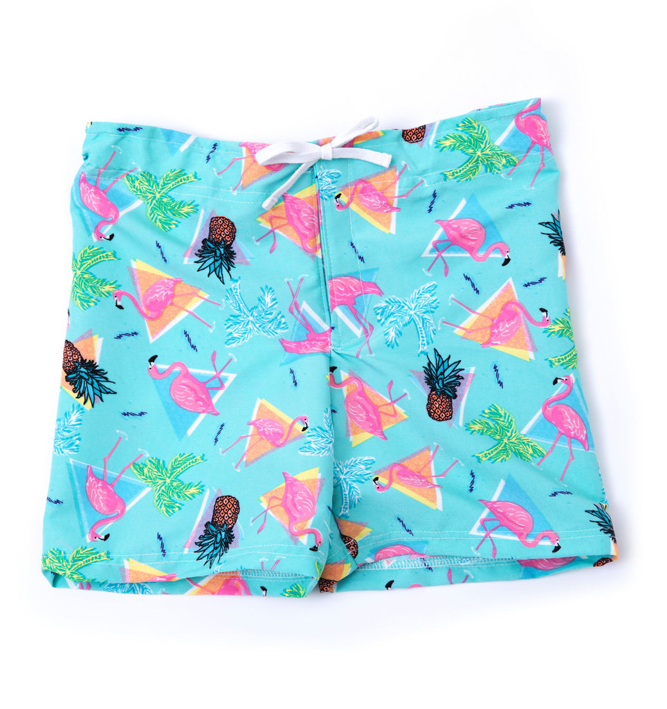 Adaptive Boys Flamingo Bermuda Shorts