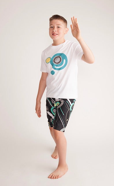 Adaptive Boys Long Space Shorts