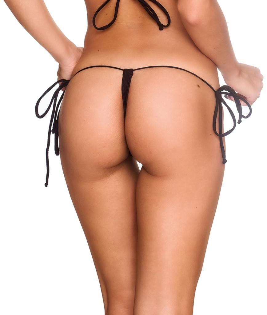 G String Thong  Bottom - Black