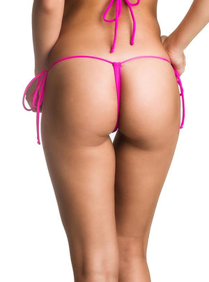 G String Thong  Bottom - Pink