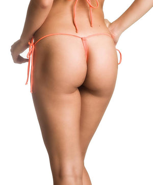 G String Thong  Bottom - Orange