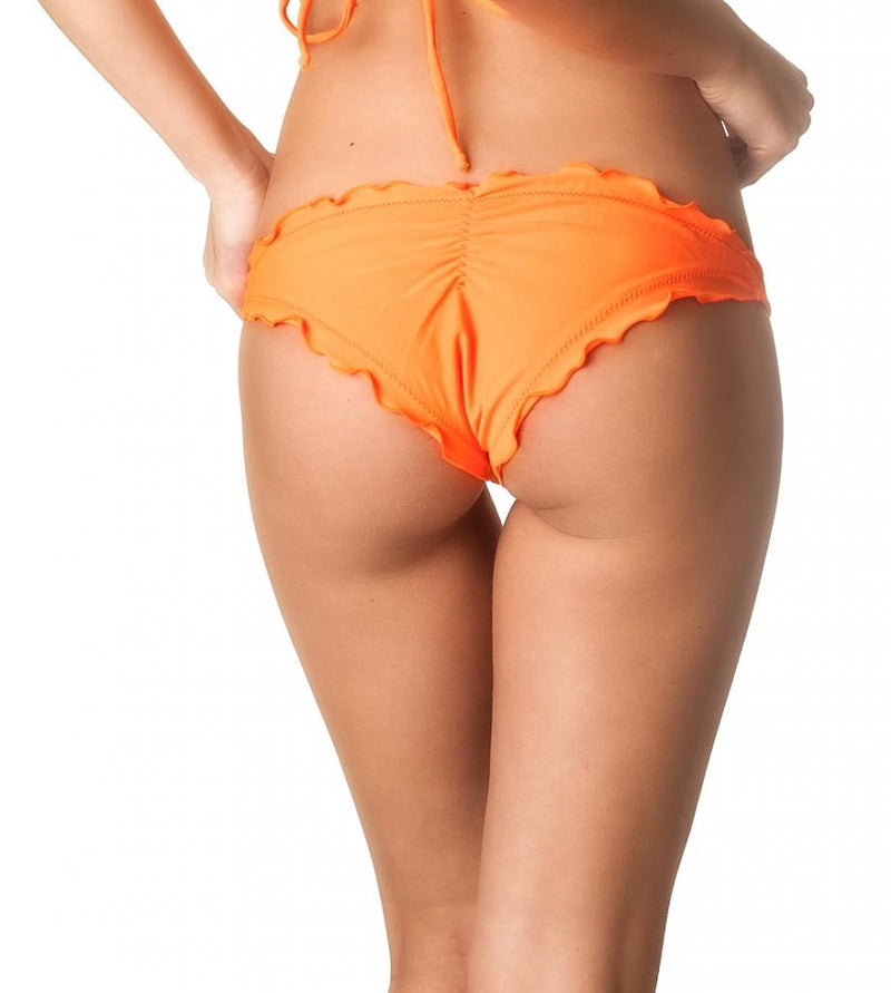 Ruffles Allure  Bottom - Orange