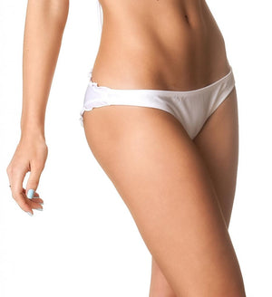 Ruffles Allure  Bottom - White