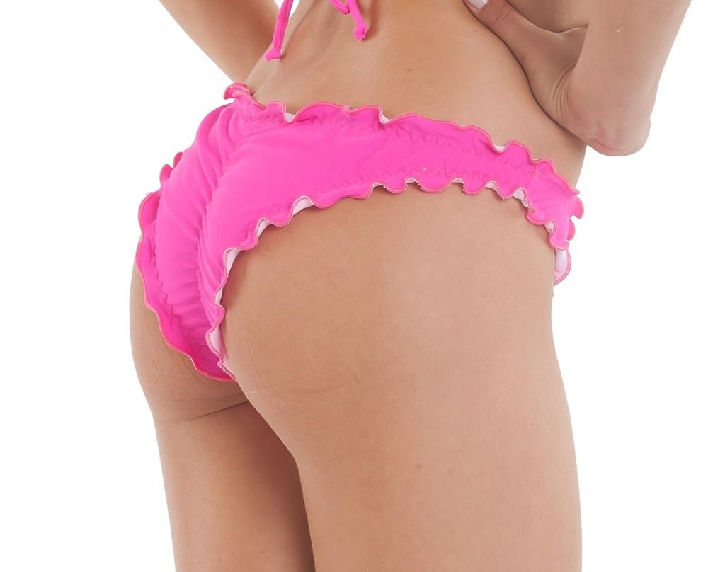 Pink - Ruffles Samba Bottom
