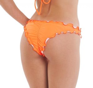 Orange - Ruffles Samba Bottom